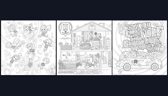 Product Information Colouring Book EXO