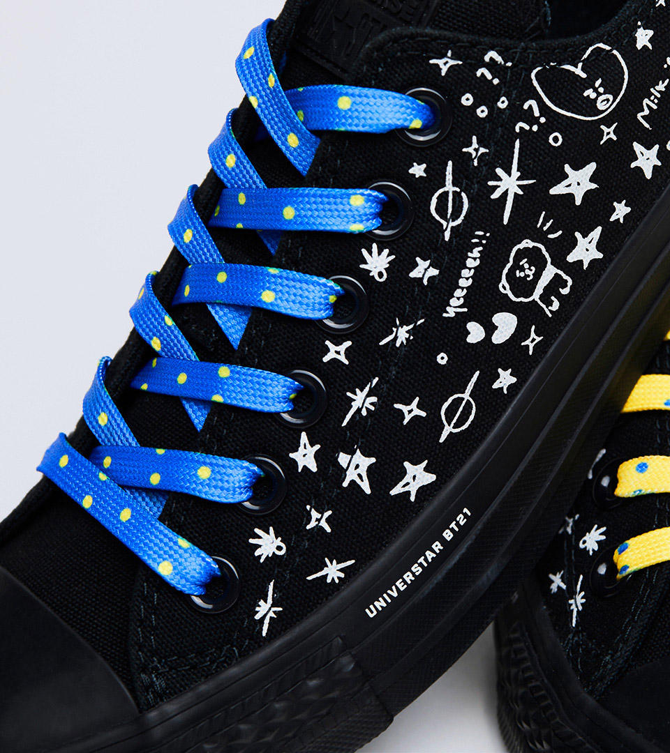 9f02da067d4b ... BT21 x CONVERSE Collaboration - Chuck Taylor All Star Low. Product  Information. Detail View