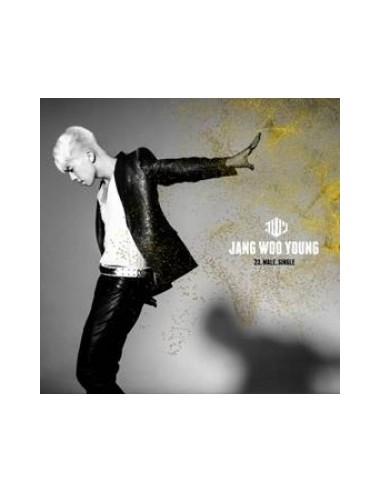 2PM JANG WOO YOUNG 1st Single Album - 23,Male,Single CD