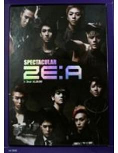 ZEA ZE:A 2nd Album - Spectacular CD + Photobook + Poster