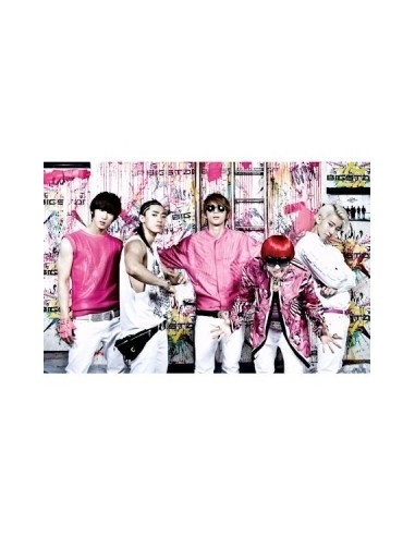 BIGSTAR First Album BIG START  CD + poster