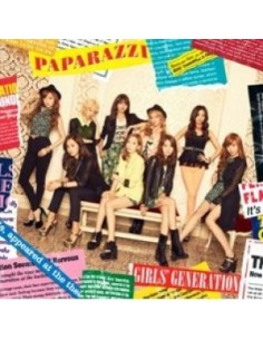 GIRLS' GENERATION - PAPARAZZI (JAPAN 4TH SINGLE ALBUM)