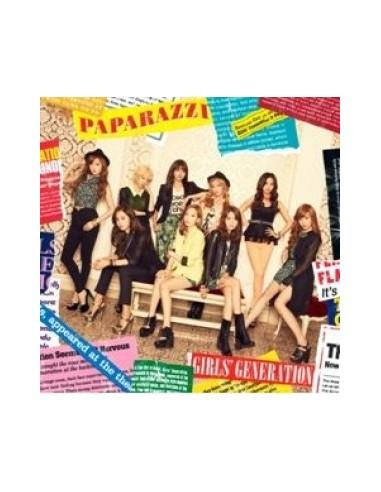 GIRLS' GENERATION - PAPARAZZI (JAPAN 4TH SINGLE ALBUM)