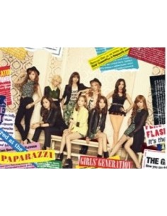 GIRLS' GENERATION - PAPARAZZI (JAPAN 4TH SINGLE ALBUM) CD+DVD Ver.2