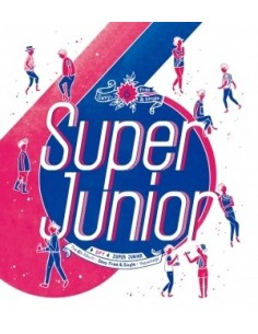 SUPER JUNIOR - VOL.6 [SEXY, FREE & SINGLE] Repackage - SPY CD + Poster