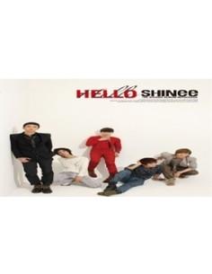 SHINEE Vol 2 Repackage Hello CD + Poster + Bonus Gift