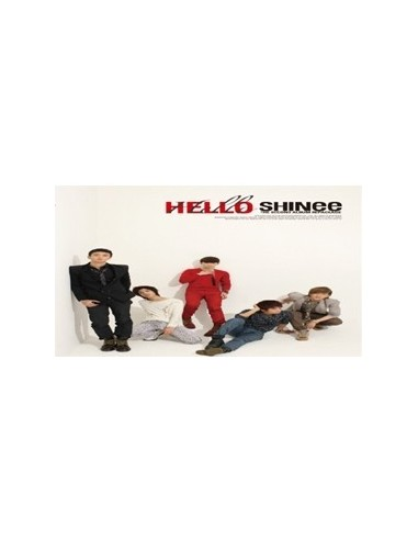 SHINEE Vol 2 Repackage Hello CD + Poster + Bonus Gift