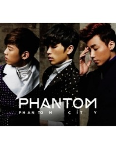 PHANTOM The First Mini Album - PHANTOM CITY CD + Poster