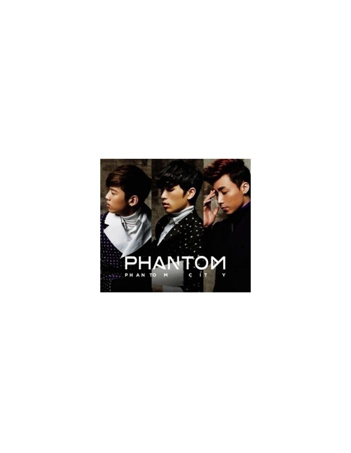 PHANTOM The First Mini Album - PHANTOM CITY CD + Poster