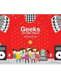 Geeks 2nd Mini Album Repackage CD - In the Morning
