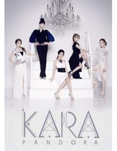 KARA 5th Mini Album  PANDORA CD + Poster