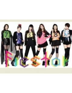 FIESTAR 1st Single Album - Debut single CD + Poster