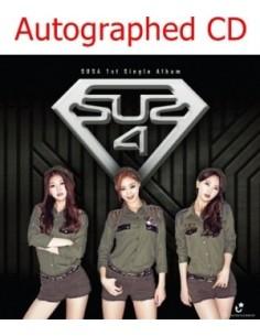 [Autographed CD] SUS4 1st Single Album - 흔들어 CD [Pre-Order]