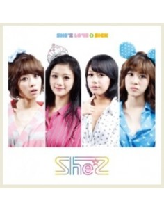 She'z - 2nd Mini Album LOVE  SICK CD