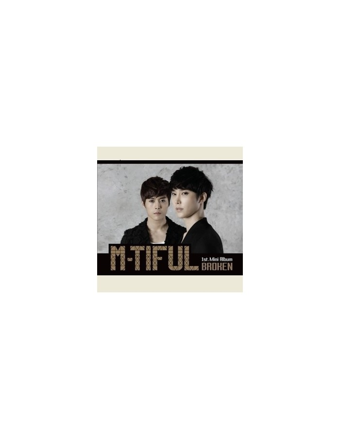 M-TIFUL 1st Mini Album - BROKEN CD
