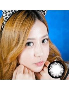 Beauty Lenses - Twinklling Pearl Stars - Gray