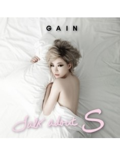 Gain 2nd Solo Album - Talk about S. CD + Poster