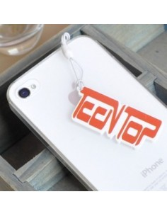 LOGO SHAPE Ear Cap/Dust Plug for iPhone iPad iPod Galaxy  - TEENTOP