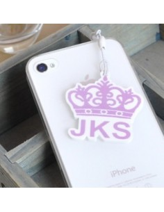 LOGO SHAPE Ear Cap/Dust Plug for iPhone iPad iPod Galaxy  - JKS Jangkeunsuk