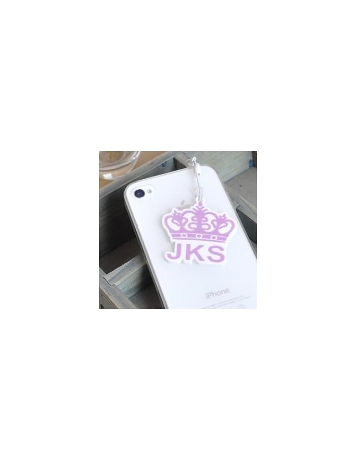 LOGO SHAPE Ear Cap/Dust Plug for iPhone iPad iPod Galaxy  - JKS Jangkeunsuk