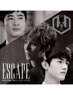 Kim Hyung Jun 2nd mini Album - ESCAPE Type 3 : CD + DVD Number 2