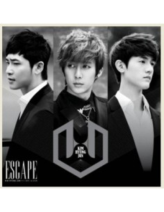Kim Hyung Jun 2nd mini Album - ESCAPE Type 4 : CD + DVD Number 3