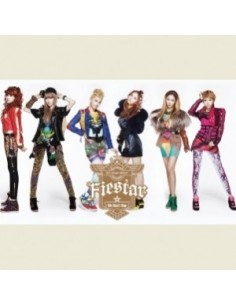 FIESTAR 2nd Single Album - We Don't Stop CD