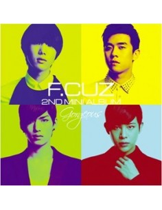 F.CUZ Gorgeous 2nd Mini Album
