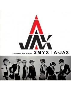 A-JAX 1st Mini Album - 2 MY X CD + POSTER
