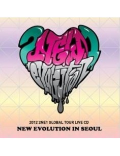2012 2NE1 Global Tour LIVE  -New Evolution In SEOUL CD + Poster