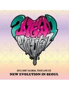 2012 2NE1 Global Tour LIVE  -New Evolution In SEOUL CD + Poster