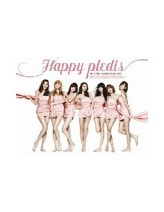 AFTERSCHOOL Happy PLEDIS 1st Album CD + Poster