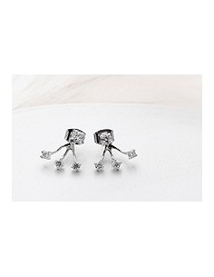 [DR09] Gain Style Three Point Earrings