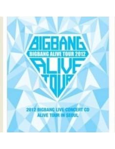 Bigbang - 2012 BIGBANG LIVE CONCERT- ALIVE TOUR IN SEOUL CD + Poster