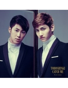 Tohoshinki TVXQ - Catch Me : If you wanna(CD+DVD)