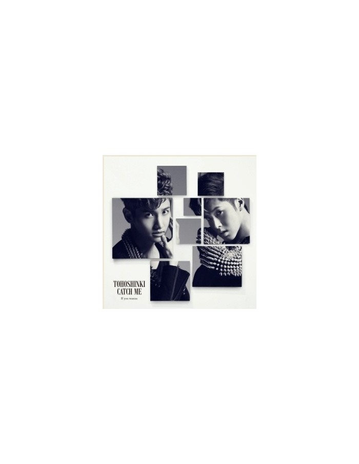 Tohoshinki TVXQ - Catch Me : If you wanna CD