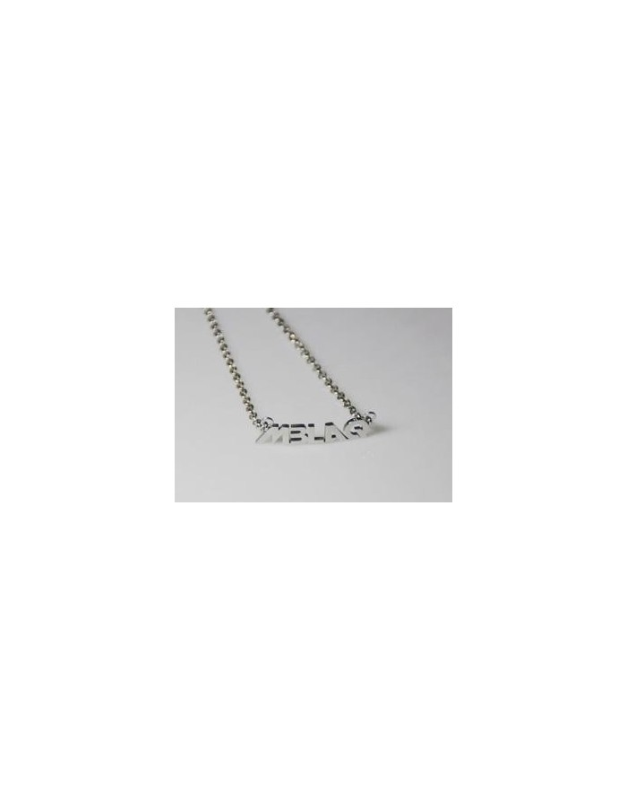 [MB04] MBLAQ Stainless Steel Name Necklace
