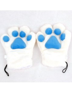 TARA T-ara Bo Beep Bo Beep Cat Glove - One Pair (Blue)