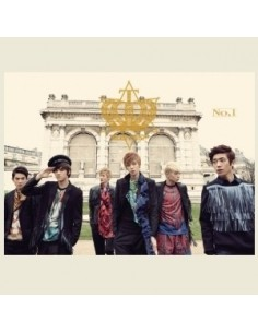 Teentop Teen Top First Album No. 1 (Normal) CD + Photobook + Poster