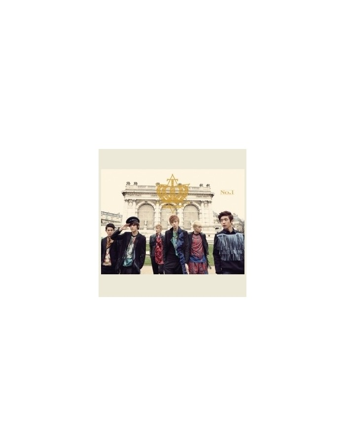Teentop Teen Top First Album No. 1 (Normal) CD + Photobook + Poster