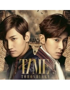 Tohoshinki TVXQ - TIME CD + DVD A Edition CD + Poster