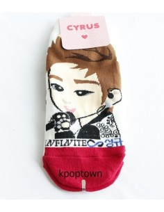 INFINITE 1 Pairs of  Character Socks - SUNGKYU
