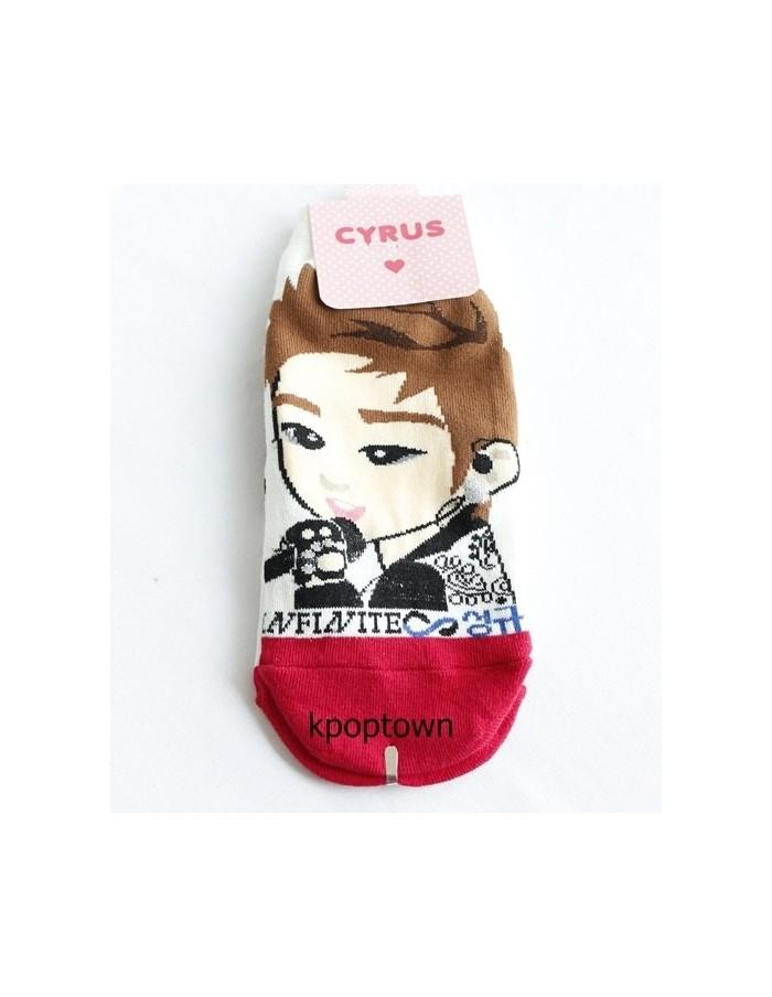 INFINITE 1 Pairs of  Character Socks - SUNGKYU