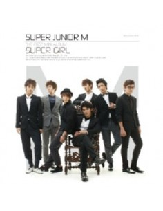 Super Junior M Mini Album Super Girl Korean Version CD