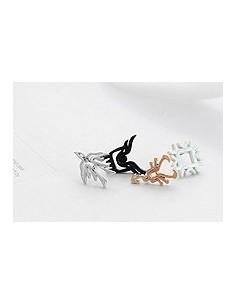 [EX83] EXO EXO-K  EXO-M Unique Emblem Earring