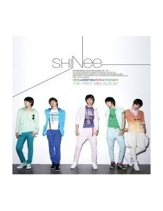 SHINEE First Mini Album 누난 너무 예뻐 CD