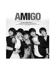 SHINEE 1st Album vol 1 Repackage AMIGO