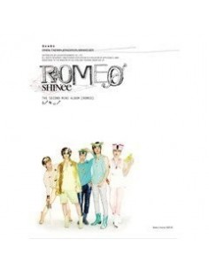SHINEE Second Mini Album Romeo CD