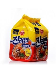 Instant Korean Noodle - Nagasaki Jjamppong(나가사끼 짬뽕) A Bunch of Five Ramens