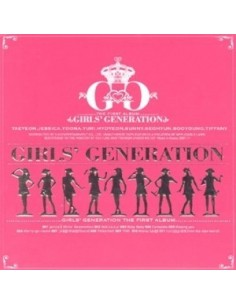 Girls Generation SNSD 1st Album vol 1 Girls Generation
